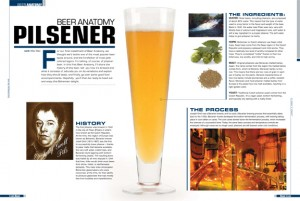 Opening Spread from Beer Magazine