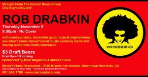 ROB DRABKIN 110509
