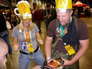 What happens at the GABF...gets posted online